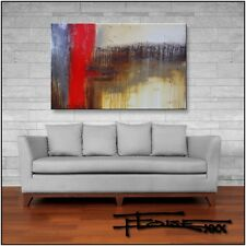 ABSTRACT PAINTING MODERN CANVAS WALL ART  Large Framed US ELOISE