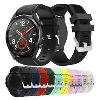 Replacement Rugged Silicon Sport Watch Band Strap For Huawei Watch GT /GT2 46mm