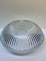 Clear Glass Art Deco Ceiling Light Shade