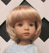 """Doll Wigs Size 4 /""""Trix/"""" in ORANGE Modacrylic fiber by Monique"""
