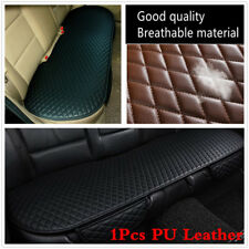 1Pcs PU Leather Car Rear Back Row Seat Cover Cushion Protector Non-slip Pad Mat