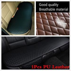 1Pcs PU Leather Car Rear Back Row Seat Cover Cushion Protector Non-slip Pad Mat