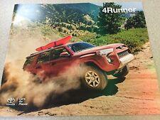 2016 Toyota 4Runner 24-page Original Dealer Brochure
