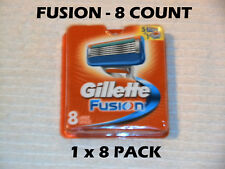 Gillette Fusion - 8 Count (1 x 8 Packs)