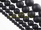 30pcs 6mm Round Brazil Blackstone Gemstone Loose Spacer Beads Jewelry Findings