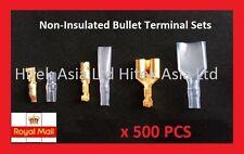 3.9mm Female & Male & Double Female Japanese Bullet Connectors - 500pcs