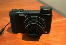 Sony Cyber-shot DSC-HX9V 16.2MP Digital Camera - Black, Panorama, HD Video