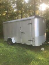 Enclosed trailer 6 x 12