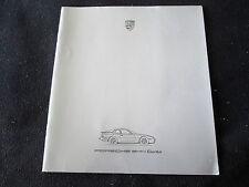1986 Porsche 944 Turbo Catalog 86 Large Prestige 951 Sales Brochure US Prospekt