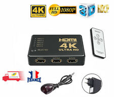 Commutateur HDMI 4K Switch Répartiteur Splitter 5 Ports Universel + Télécommande