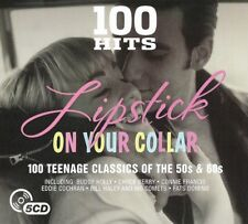 100 Hits: Lipstick On Your Collar - Various Artists (Box Set) [CD]