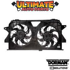 Radiator Cooling Fan (Dual Fan) for 05-07 Dodge Caravan or Grand Caravan