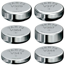 V301 ... V399 Silberoxid-Knopfzellen Uhrenbatterien 1x 2x 3x 5x 10x von VARTA