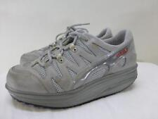 MBT Swiss Masai Sport 04 gray leather toning walking Shoes shape mens sz 5.5 37