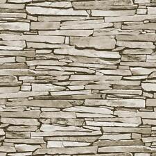 Debona Slate modello realistico in ecopelle effetto pietra Foto Carta da parati rotolo