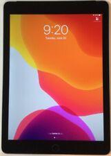 "SPACE GRAY GSM UNLOCKED 9.7"" APPLE iPad AIR 2, 128GB WI-FI + CELLULAR A1567 C65C"