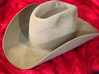 STETSON   Cowboy Hat  size 71/4    4XXXX      Beaver  Light Brown  w/ box