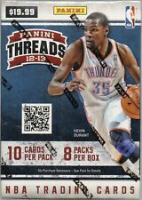 2012-13 PANINI THREADS BASKETBALL CARDS BLASTER BOX