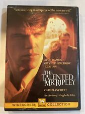 New listing The Talented Mr. Ripley Dvd 2000