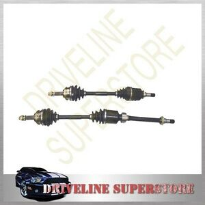 A SET OF TWO CV JOINT DRIVE SHAFTS NISSAN X-TRAIL T31 2.5L AUTO YEAR 2007-2013