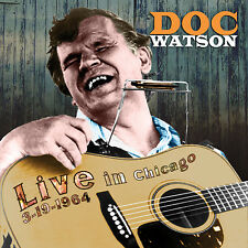 DOC WATSON New Sealed 2018 UNRELEASED LIVE 1964 CONCERT CD