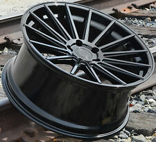 "20"" Gloss Black Road Force RF15 Wheels Fit Mercedes S400 S550 S600 S63 (Set 4)"