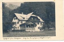 AK aus Aich bei St. Gilgen, Gasthaus Kas-Peter, Salzburg   (K14)
