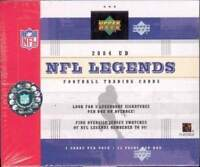 2004 Upper Deck Legends Football Factory Sealed 16 Box Hobby Case -48 Autographs