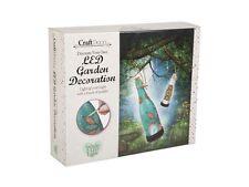 DECORARE crea la tua LED Giardino Luce BOTTIGLIA decorazione Craft DECO r06-0032
