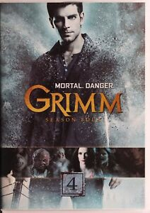 Grimm DVD - Season Four 4 - R1 - Free Post