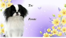 Japanese Chin Dog Self Adhesive Gift Labels by Starprint
