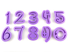 Disney Font Numbers Cutouts (Disney Cookie Cutter Set) - Cutters from Bakell