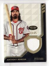 ANTHONY RENDON MLB 2018 TOPPS TIER ONE LEGEND RELICS (WASHINGTON NATIONALS) /335