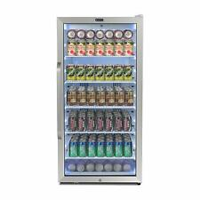Whynter Freestanding 8.1 cu. ft. Stainless Steel Commercial Beverage Merchandise