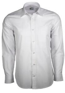 Maracheno Business Shirt, White, XS-5XL