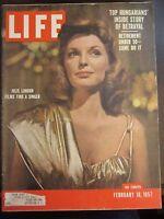 Life Magazine Julie London Films Find a Singer February 1957