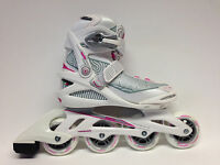 Roces Optic white pink Fitness Inline Skates Gr. 38 -Sale- Inlineskate Damen