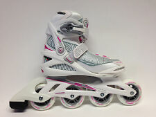 Roces Optic white pink Fitness Inline Skates Gr. 40 -Sale- Inlineskate Damen