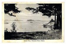 1938 Ottawa River, Petawawa Point, Ontario Canada Postmark Postcard