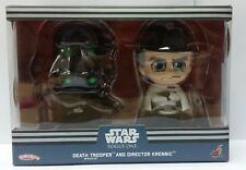 Hot Toys Star Wars Rogue One Director Krennic & Black trooper cosbaby cosbabys
