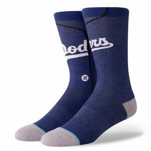Stance Kids Blue Crew Cotton MLB Baseball LA Dodgers Alt Jersey Socks M 11-1 SJ