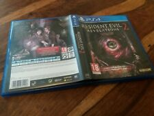 REPLACEMENT CASE For Resident Evil Revelations 2 Two NO GAME on Sony PS4 VGC
