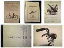 02 Bedienungsanweisung Betriebsanleitung für Fahrradhilfsmotor Steppke 1956