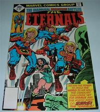 "THE ETERNALS #17 (Marvel Comics 1977) ""RARE"" Whitman copy! Jack Kirby (FN/VF)"