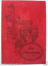 Restaurant Menu For Les Novedades Tampa, Florida 1960's