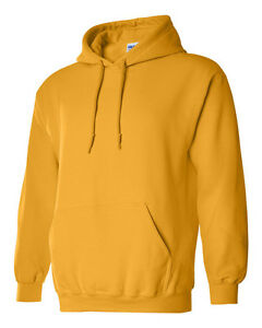 Gildan Mens Heavy Blend Hooded Sweatshirt  New Hoodie (S - 3XL)  18500