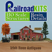 Seckler's Irish Rose Antiques HO scale Craftsman Structure Kit NEW Railroad Kits