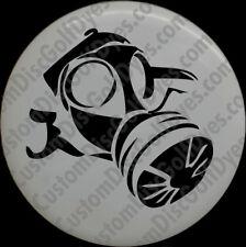 Disc Golf Custom Dye Stencil - Old Gas Mask (2 Pack)