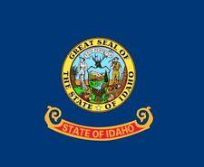 IDAHO STATE FLAG U.S.A. USA American flags Boise