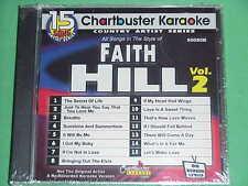 Faith Hill~#2~Chartbuster Karaoke~90080R~~Let's Make Love~~~I Got My Baby~~CD+G